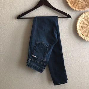 Hudson Jeans dark blue skinny jeans